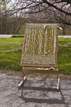 I have their peg loom & it is very well made. I have 3 looms, but thinking seriously about getting this one. Dewberry Ridge - A Fiber Art Business - Twining Loom- Rug Loom, Adjustable Twining Loom Weaving Loom Diy, Hand Weaving, Weaving Art, Missouri, Wooden Knitting Needles, Peg Loom, Tapestry Weaving, Red Oak, Rug Hooking