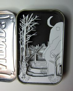Altoids shadow box