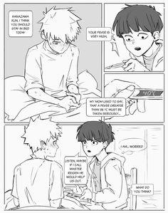 """Casual bad boys hanging out""  Teruki x Shigeo"