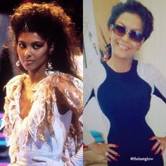 "Denise ""Vanity"" Matthews 1985 vs 2015 Side by Side"