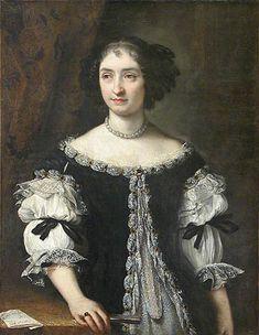 ca.1663 (estimated) Maria Maddalena Rospigliosi (1645–1695) by Carlo Maratta