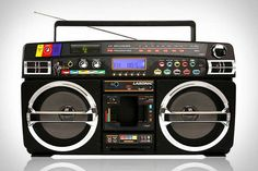 The Lasonic Bluetooth Boombox is the Best of Two Generations #Decor #Retro trendhunter.com
