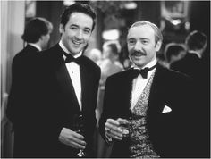 ahhh...John Cusack and Kevin Spacey, two of my favorite actors (and John Cusack in a tux!).