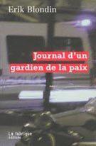 LA FABRIQUE EDITIONS - Société - Journal d'un gardien de la paix