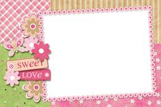 Baby Scrapbook Pages, Scrapbook Frames, Scrapbook Designs, Page Borders Design, Picture Frame Decor, Cute Frames, Christmas Frames, Borders For Paper, Frame Clipart