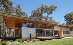 Danish Modern Style Abounds In This Modernist Australian House - Mid Century Home