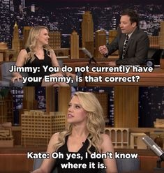And when she was relatable AF because she couldn't find her Emmy. | 17 Times Kate McKinnon Got Us Through 2016