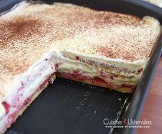 The Big Diabetes Lie- Recipes-Diet - Tiramisu Framboise Sweet Recipes, Cake Recipes, Dessert Recipes, Raspberry Tiramisu, Cooking Time, Cooking Recipes, Tiramisu Dessert, Thermomix Desserts, Pavlova