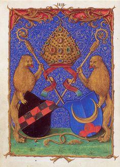 Wappen des Bernhard von Clairvaux, wurde später zum Zisterzienser-Balken