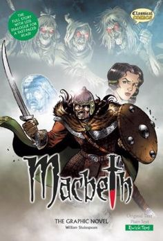 The full play in quick modern English for a fast-paced read! Set in Scotland in the year 1040, Macbeth is thought by many to be Shakespeare¿s finest tragedy - it is certainly one of his best known and most dramatic plays. This full color graphic novel really brings the story to life. The book includes an illustrated character guide, 121 pages of story artwork, and support material that tells the story of the real Macbeth, details the life of Shakespeare and explains the origins of the play.