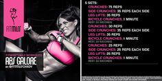 Fitmiss Abs Galore W
