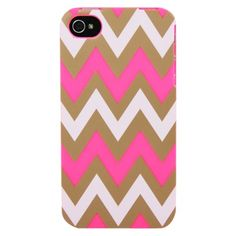 Sonix Classic Chevron for iPhone®4/4S - Hot Pink (200-1016-001)
