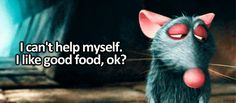 """How does Remy know so much about food? 