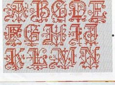 Filomena Crochet and Other Handcraft: - Alphabet