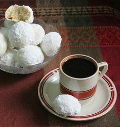 Coffee Dessert, Coffee Cake, Russian Tea Cake, Individual Desserts, Mini Tart, Vintage Baking, Turkish Coffee, High Tea, Tea Time