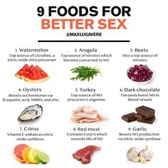 Want better sex? 🍑 — NITRIC OXIDE ➡ BETTER SEX 🐦🐝 — Aside from helping you look better naked, food is information… Men Health Tips, Natural Health Tips, Home Health Remedies, Natural Health Remedies, Healthy Tips, Healthy Eating, Healthy Recipes, Health And Nutrition, Health And Wellness