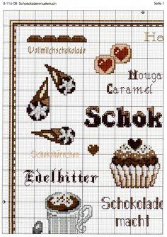 Gallery.ru / Foto # 2 - B-116-08 - Schokoladenmustertuch - Ulrike