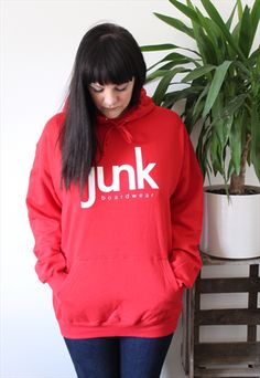 Buy & sell new, pre-owned & vintage fashion Hoodies, Sweatshirts, Adidas Jacket, Asos, Vintage Fashion, Graphic Sweatshirt, Unisex, Pullover, Red