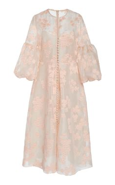 Full Sleeve Button Front Silk Dress by Lela Rose Dress Brukat, Batik Dress, Hijab Dress Party, Silk Dress, Silk Skirt, Prom Dress, Wedding Dress, Kebaya Modern Dress, Kebaya Dress