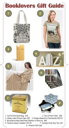 Book Lover's Gift Guide Ideas