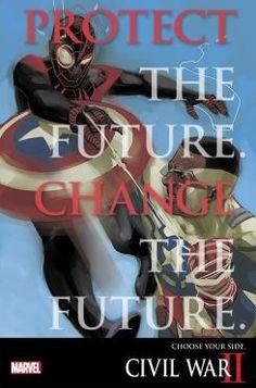 Teaser de Civil War II con Spider-Man de Miles Morales y Capitán América de Sam Wilson