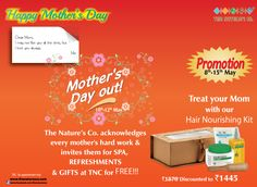 Mother's Day celebration at The Nature's Co.