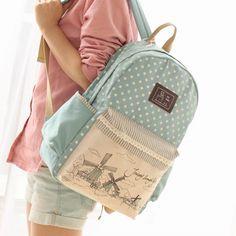 3778716b58b19f US $34.74 |2018 delle Donne di Modo della Tela di Canapa Zaino sacchetto di  Scuola Per La Ragazza Signore Ragazzi Casual borse Da Viaggio Schoolbag  Bagpack ...