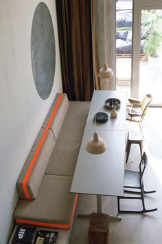 ★★NEW POST★★  Dez 'en Arch Blog._: Neon Orange Stripes._  http://studiodezenarch.blogspot.com/2013/04/neon-orange-stripes.html