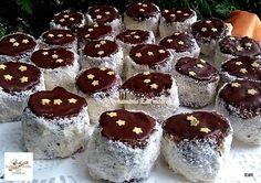 Káprázatos hólabda, már csak így készítjük, annyira csodás lett! Winter Food, Biscuits, Cheesecake, Muffin, Food And Drink, Pudding, Breakfast, Haha, Romanian Recipes