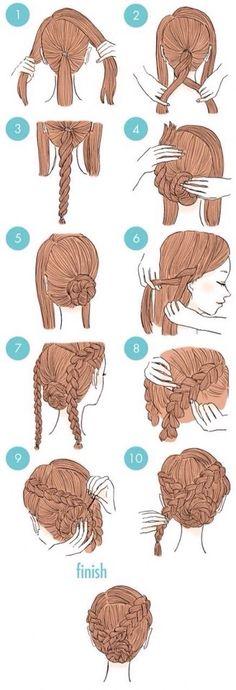 DIY Pretty Hairstyles #Beauty #Trusper #Tip