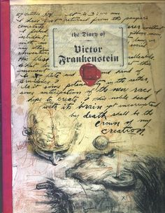 A pseudo diary by Victor Frankenstein, in handwritten letters and drawings. - See more at: http://www.hillcountrybooks.com/?page=shop/flypage&product_id=1717#sthash.LkCYRTgx.dpuf