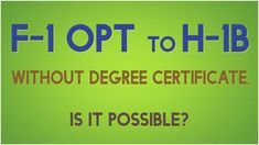 Immigration Webinar: F1 OPT To H1B Before Graduation: Is It Possible?  #h1bcap #f1opt #capgap #h1blottery #opth1b #stemopt #f1students #optcpt