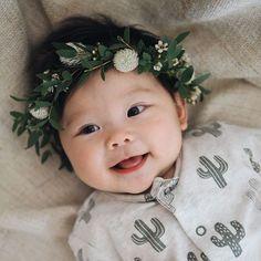 ideas for baby girl newborn korean Cute Asian Babies, Korean Babies, Asian Kids, Cute Babies, Beautiful Children, Beautiful Babies, Baby Pictures, Baby Photos, Flower Names For Girls