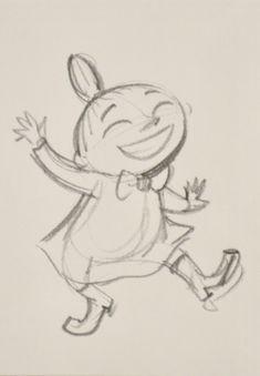 Postcard Moominvalley TV Little My Sketch Moomin Shop, Moomin Mugs, Little My Moomin, Underarm Tattoo, Moomin Valley, Tove Jansson, Summer Books, Tattoo Project, Baby Room Design