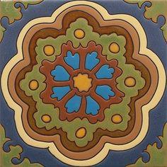 From the California Revival Collection, Alba, Designed by Susanne Kibak Redfield, Tango Tile