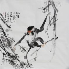monkey in painting - Google Search