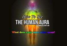 "Learn all about auras, how to read auras, how to see your aura, aura colors and what each aura color means. At the end of this article, there is a video and a ""How to"" that will show you how to see..."