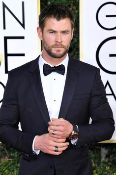 Chris Hemsworth @ Golden Globes 2017
