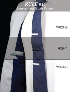 The tie bar is a perfect menswear accessory that will add both style and function to your wardrobe. If worn correctly, i...