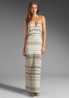 Shona Joy Pastel Maxi Dress