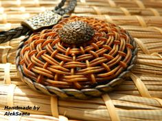 link to tutorial - basket weaving in polymer clay