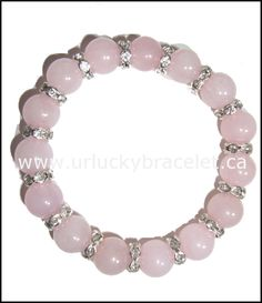 Lucky Rose Quartz Bracelet