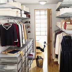 The Container Store > Platinum elfa Walk-In Closet
