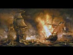 (3) Napoleonic Basics: Naval ratings - YouTube Battle Of The Nile, Art Mur, Modern Oil Painting, Painting Art, Old Sailing Ships, Concept Art World, Ship Paintings, Boat Art, Adventure Movies