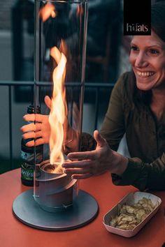 höfats SPIN Bioethanol Windlicht, Tischfeuer - Hints for Women Bio Ethanol, Rocket Stoves, Diy Centerpieces, Urban Life, Home Living Room, Backyard Landscaping, Spinning, Fire, House Design