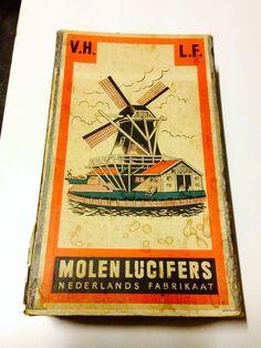 lucifers jaren 60. Molenlucifers, mijn opa was een van de ontwerpers.