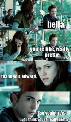 Twilight meets Mean Girls. This is for you @Alex Jones Waters
