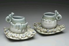 Blue Eggspresso Cups, Marion Angelica