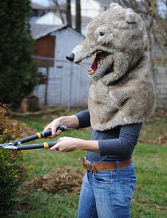 Just another way to scare the neighbors in the morning.
