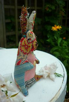 prim bunny by hens teeth, via Flickr